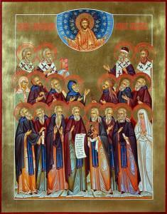 Икона Собора Александровских святых