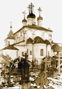 Уничтоженное в советские годы монастырское кладбище