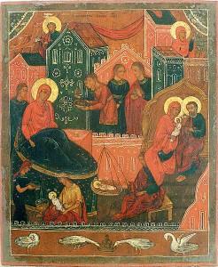 Икона Рождества Богородицы Лукиановская