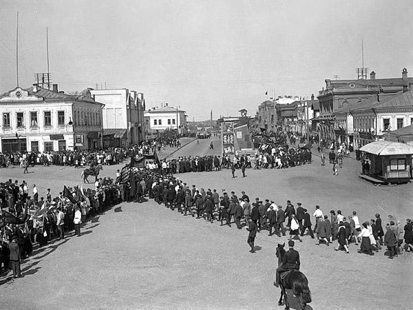 Демонстрация Иваново 1930 год