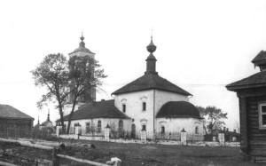 с. Бакшеево Дмитриевская церковь