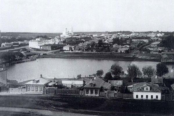 г. Александров вид из монастыря