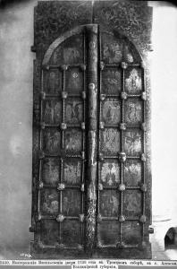Троицкий собор. Новгородские врата