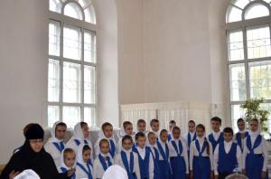 14 сентября. Выступление на педсовете учителей Воскресных школ