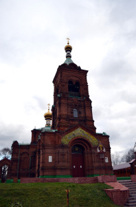 Успенская церковь в с. Старые Петушки