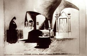 Гробницы царевен под Сретенской церковью