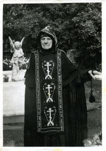 схимонахиня Сергия в Троице-Сергиевой Лавре, 1986 г.