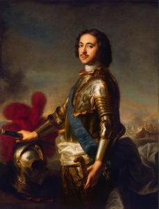 Портрет Царя Петра I (Эрмитаж)