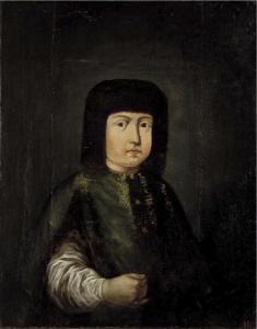 Царевна Марфа Алексеевна, портрет неизвестного художника