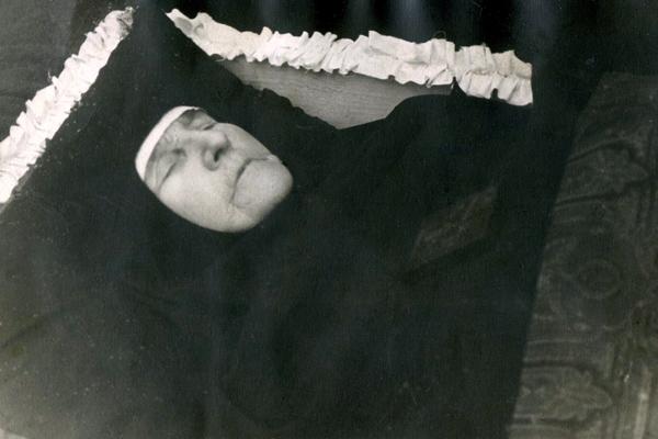 Погребение монахини 1959 г.