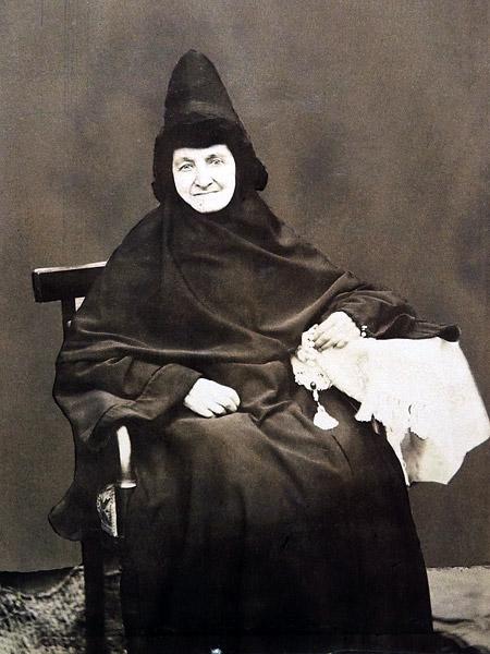 Монахиня Алевтина (Назарова), казначея, 1881 г.