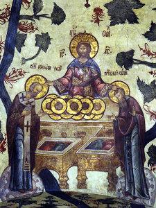 Фреска Троицкого собора