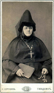 Игумения Евфрасия (Лихарева) ок. 1887 г.