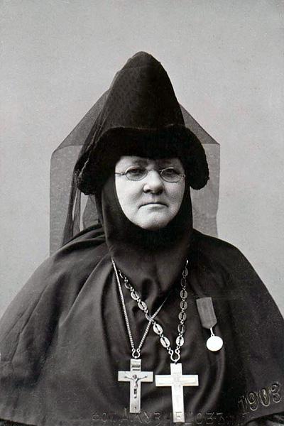 Игумения Евфрсия (Лихарева), 1903 г.