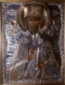 Чтимая монастырская икона свят. Николая (кон.XVII в.)