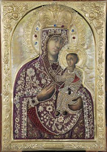 Чтимая Черниговская-Гефсиманская икона Божией Матери из Троицкого собора Успенского монастыря