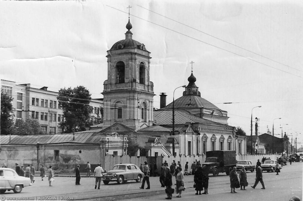 Преображенская церковь, фото 1962 г.