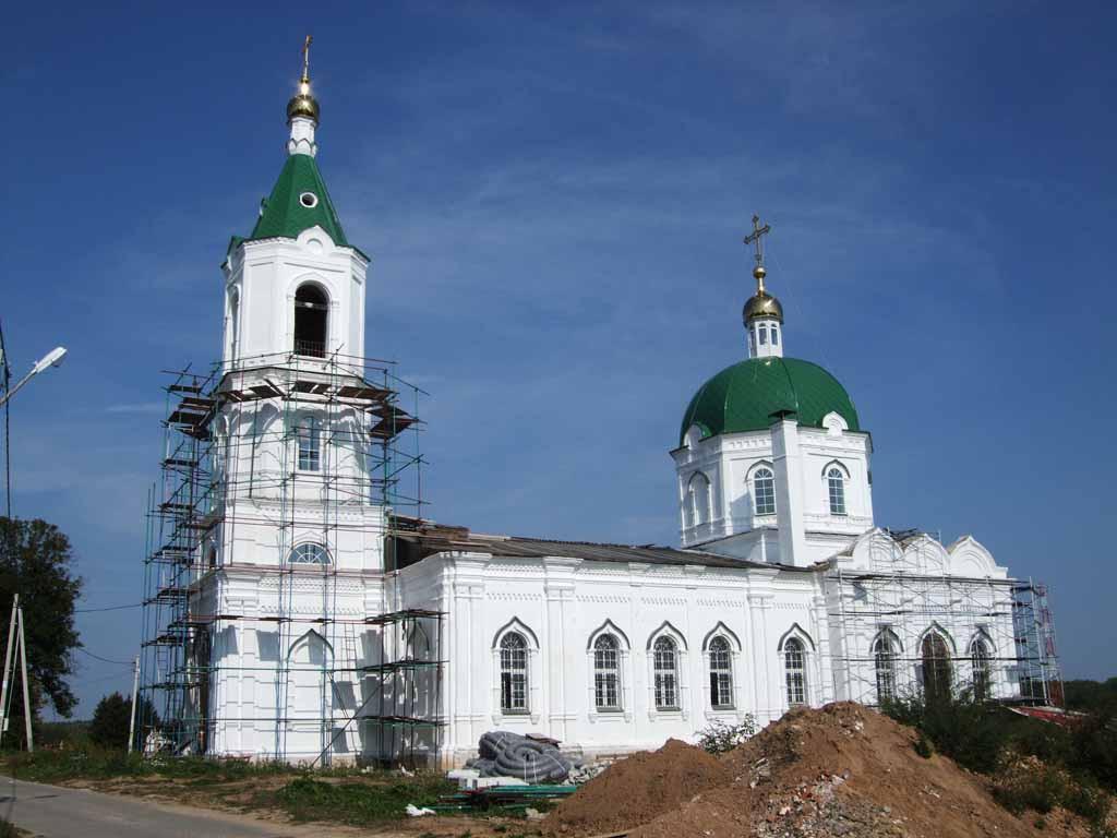Церковь села Рождествено 2014 г.