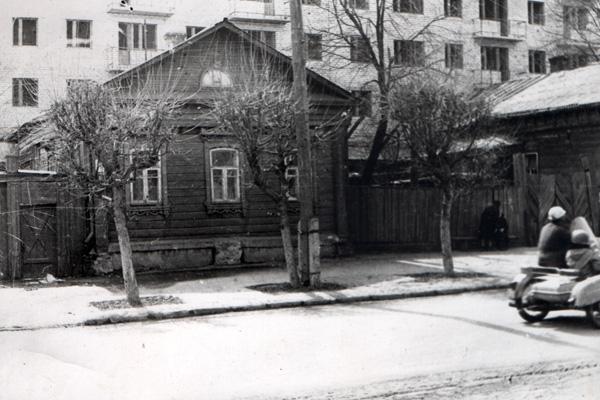Дом о. Андрея на ул. Революции в г. Александрове