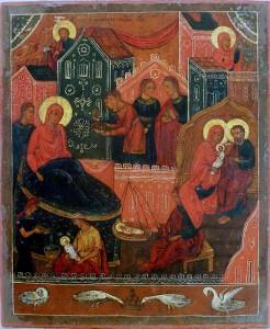 Икона Рождества Богородицы из Лукиановой пустыни