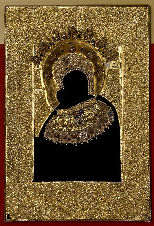 Оклад Владимирской иконы ГИМ