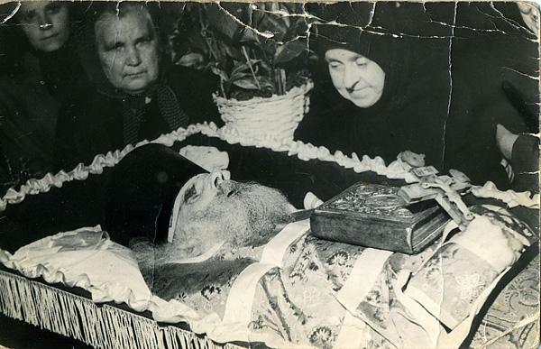 1960 г. отпевание прот. Петра Успенского