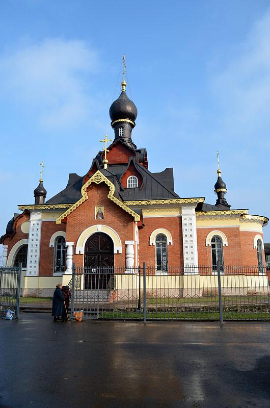 Церковь Серафима Саровского, фото 4.11.2014