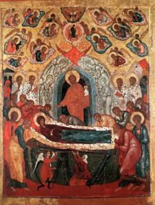 Икона Успение Богоматери кон. XVI в. из фондов ВСМЗ