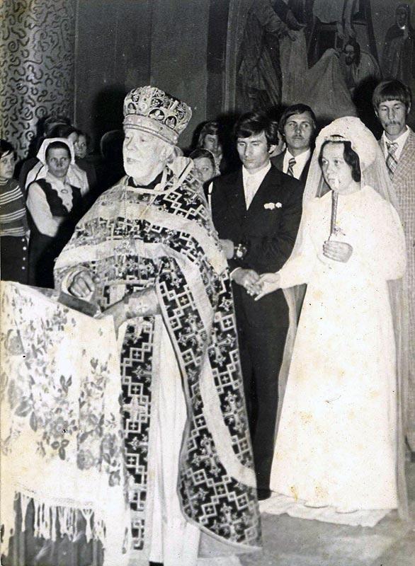 Венчание супругов Фестинатовых