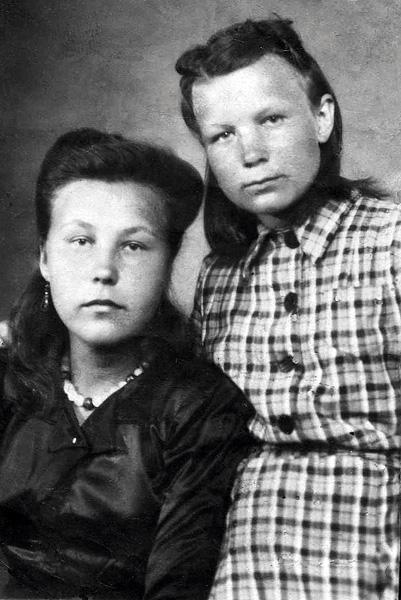 Рита и Надя Андреевы