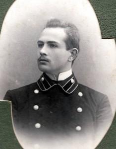 Дмитрий Николаевич Флоринский, фотография из выпускного альбома Владимирской духовной семинарии, 1908 г.