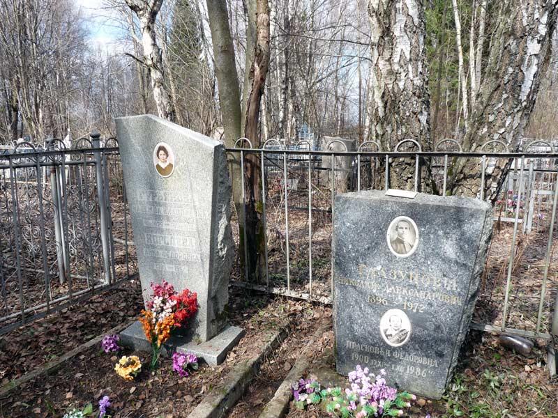 Погребение послушницы Анны Королевой на старом кладбище г. Александрова