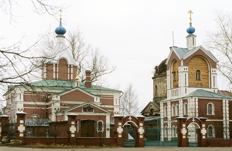 Церкви села Павшино