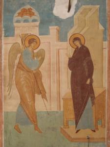 Благовещение- фреска Дионисия