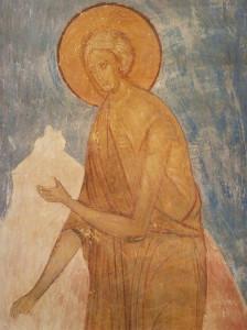 Мария Египетская фреска