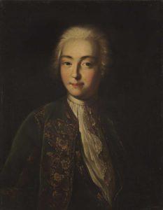 Елисавета-Петровна-в-молодости-Портрет-неизв.художника сер. XVIII в.