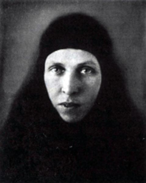 Монахиня Сергия (Голубцова) 1927 год