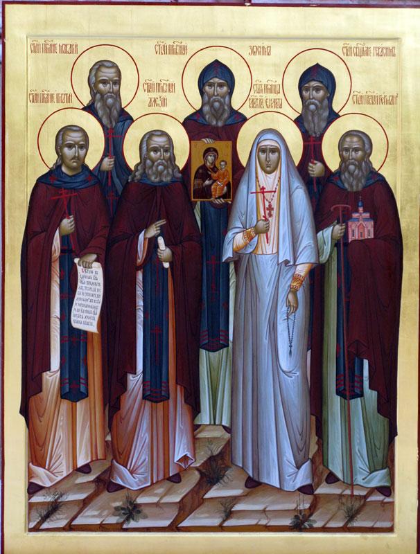Икона Собор Зосимовских святых