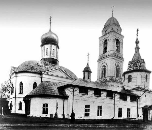 Храм Стефано-Махрищского монастыря