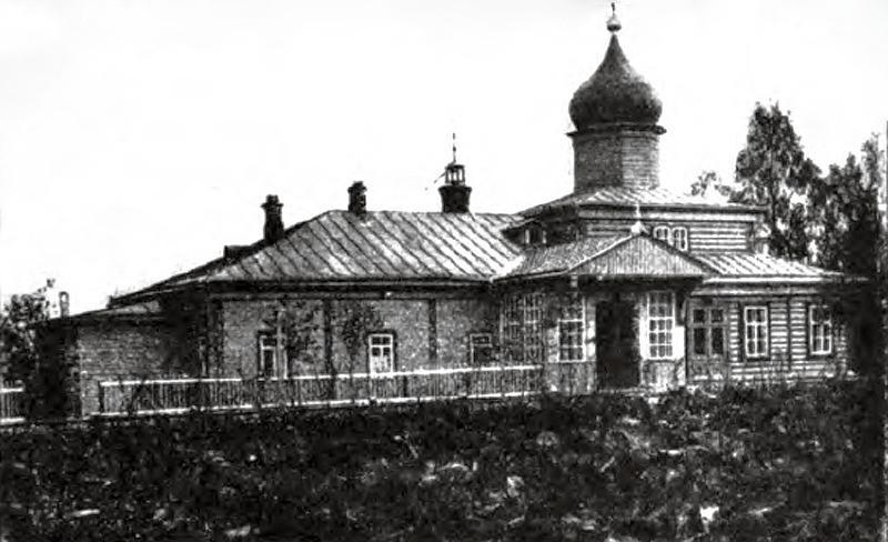 Храм монастыря в д. Хмелево