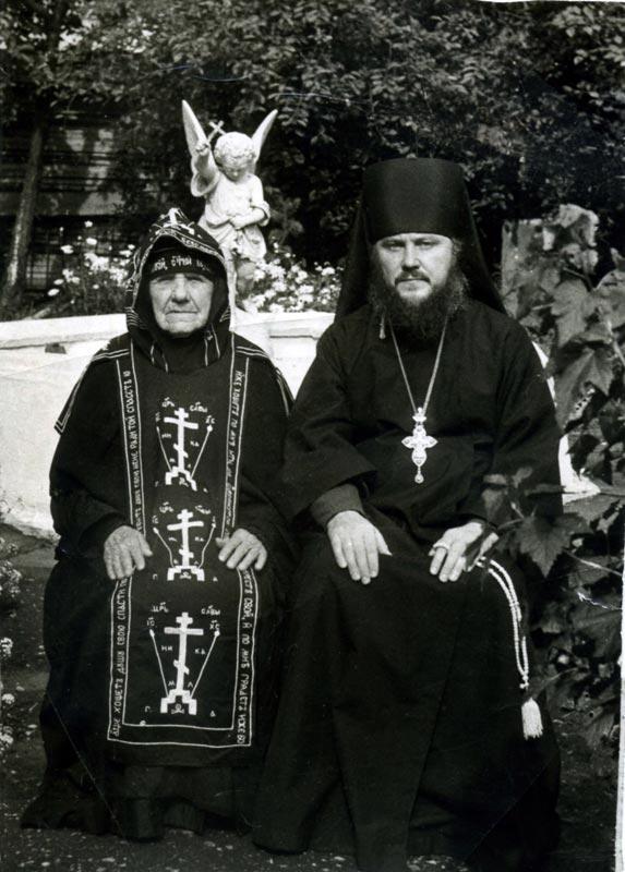 Схимонахиня Сергия (Михеева) после пострига