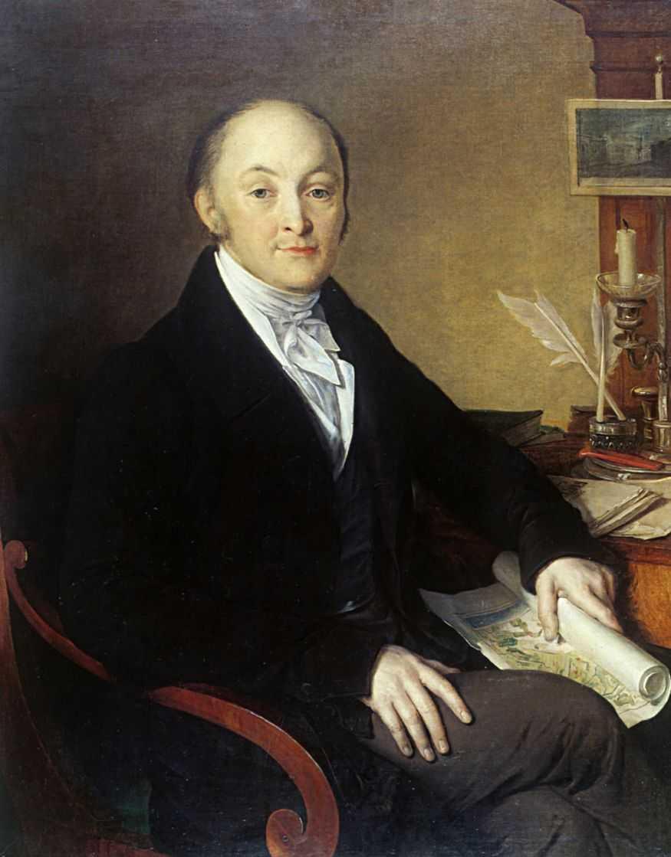 граф М.М. Сперанский, портрет Тропинина